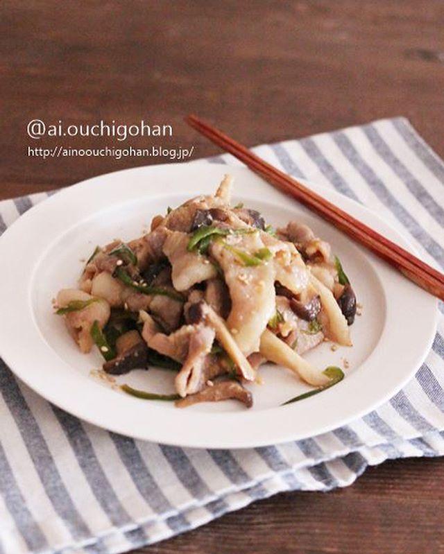 豚バラと野菜の味噌炒め風レンジ蒸し