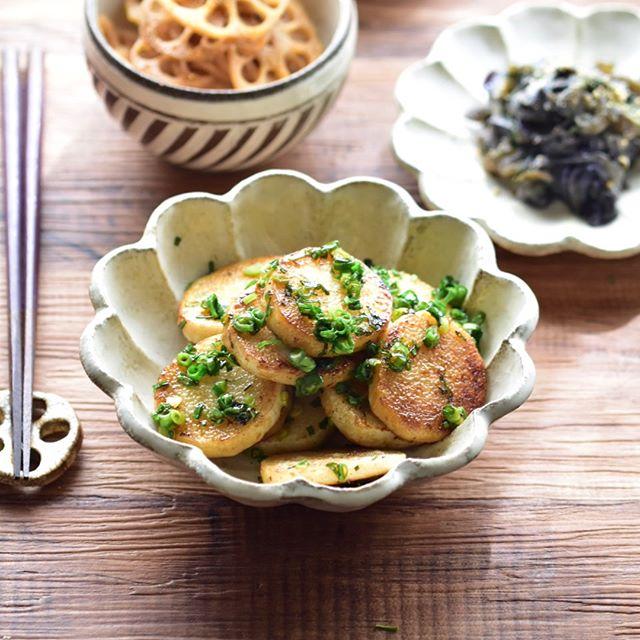 長芋の炒め物