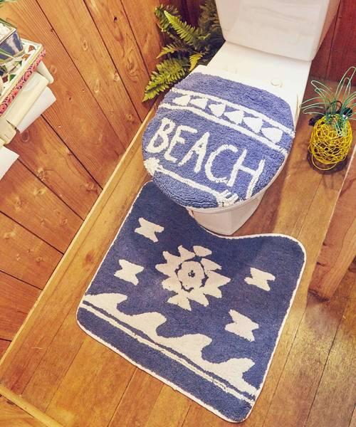 【Kahiko】BEACHアロー トイレセット