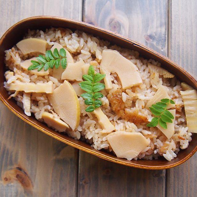筍の炊き込みご飯2