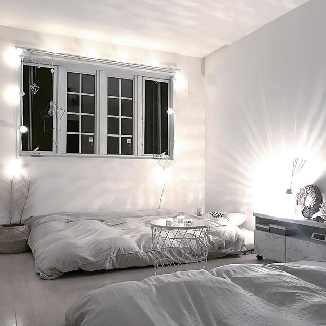 海外風インテリア 寝室3