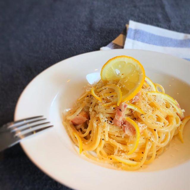 レモンクリームパスタの人気レシピ