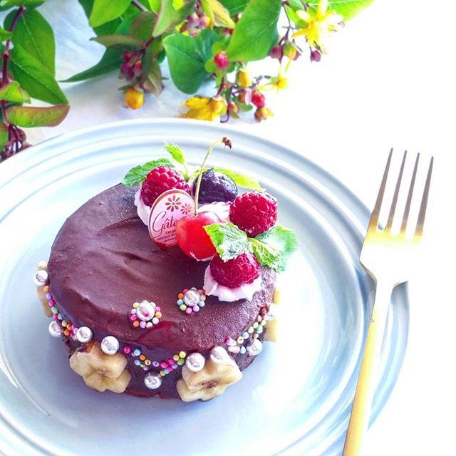 チョコレートパンケーキ