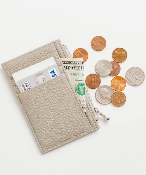 [ZAKKA-BOX] カラフルレザーマルチカードケース(無地)