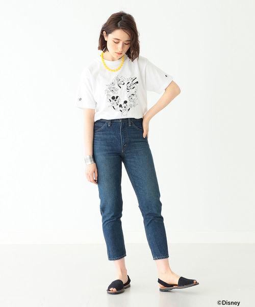[BEAMS WOMEN] Champion / Disney(ディズニー)スペシャル Tシャツ