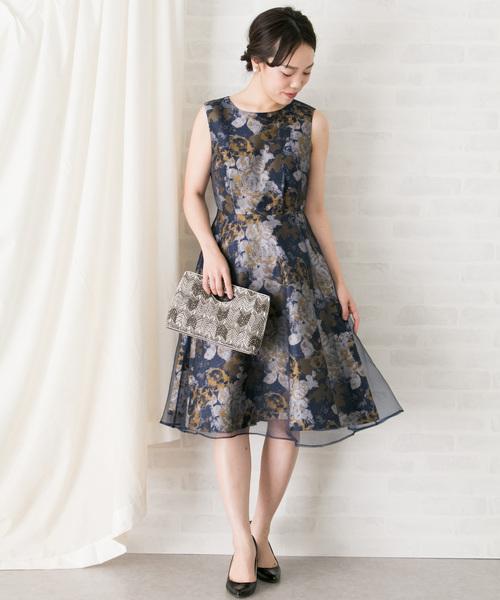 [URBAN RESEARCH ROSSO WOMEN] シアージャガードドレス