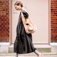 「黒色ワンピース」が1着あれば夏の旬コーデが叶う♡小物使いで印象を変えて♪