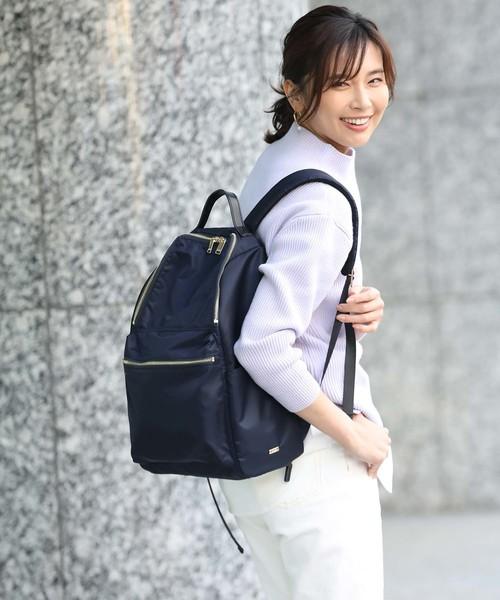 [ROPE'] 【撥水加工】ショルダーバッグ付き オリジナルデイバッグ