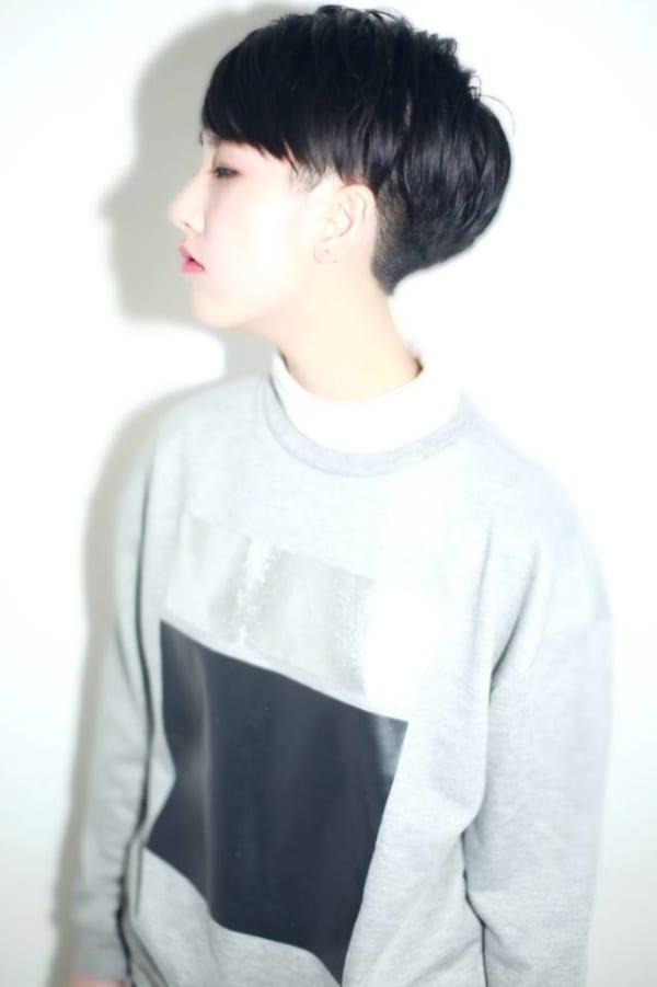 ハンサムショート×黒髪6
