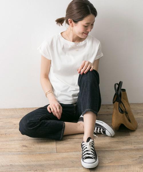 [URBAN RESEARCH] ペルビアンコットンTシャツ