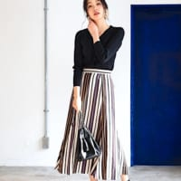 タイトとフレアの良いとこ取り♪「マーメイドスカート」で作る大人スタイル特集