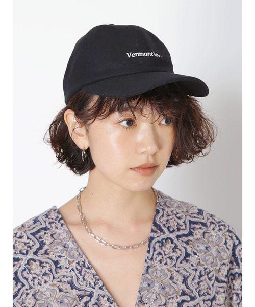 18[Ungrid] リネン混CAP