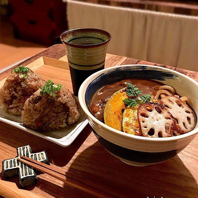 鶏肉とごぼうの炊き込みご飯2