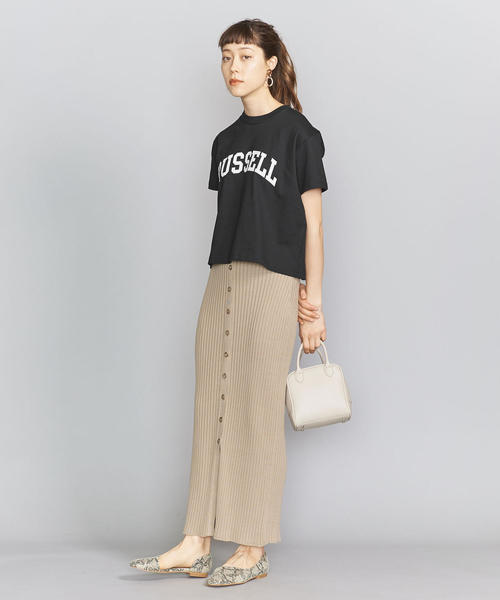 [BEAUTY&YOUTH UNITED ARROWS] <k3&co. × RUSSELL ATHLETIC>ロゴTシャツ