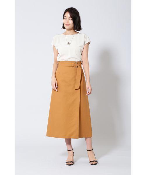 [BOSCH] 《B ability》ベルト付ロングスカート