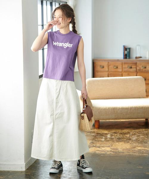 [ROPE' PICNIC] 【WRANGLER×ROPE' PICNIC】ロゴノースリーブTシャツ3