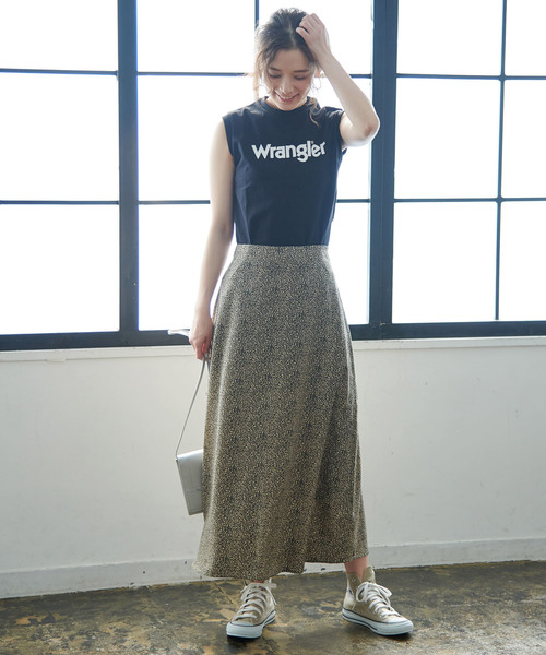 [ROPE' PICNIC] 【WRANGLER×ROPE' PICNIC】ロゴノースリーブTシャツ2