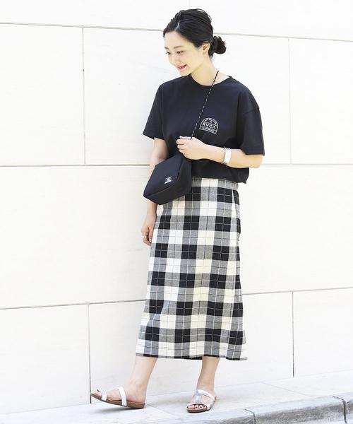[FREAK'S STORE] 【WEB限定】チェックタイトスカート