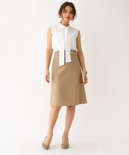 [aquagirl] ストレッチオックス 台形スカート