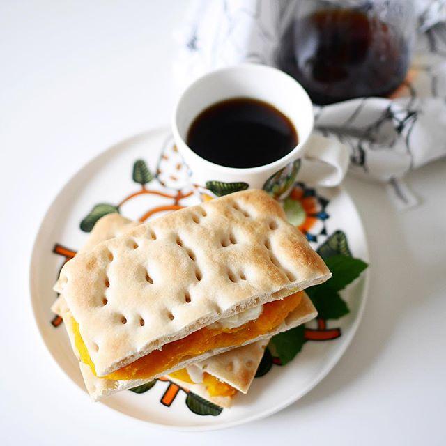 かぼちゃ 簡単料理 グラタン・サンドイッチ9
