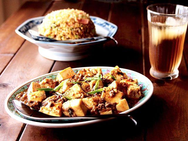 ピリリと辛い麻婆豆腐