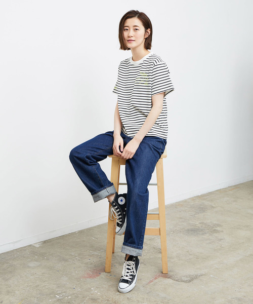 [ROPE' PICNIC] フルーツ刺繍Tシャツ2