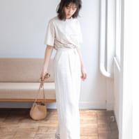 白ワイドパンツの夏コーデ50選♡【GU・ユニクロ】のきれいめな着こなしもご紹介