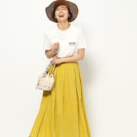 あなたはどのカラーをゲットした?夏ならではの《カラースカート》特集