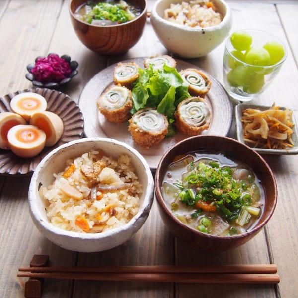 秋 汁物 レシピ3
