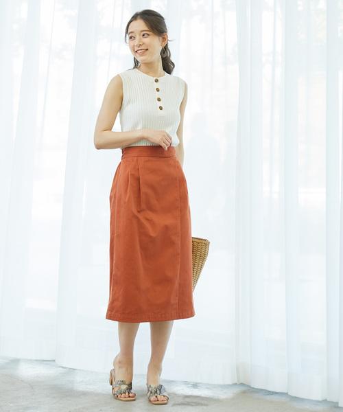 [ROPE' PICNIC] ラップ風アイラインスカート
