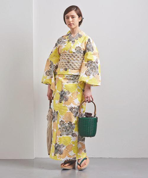 [UNITED ARROWS] 【WEB限定】<KAGUWA>菊牡丹 浴衣