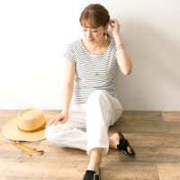 夏コーデをパッと華やかに♡《柄トップス》で作る大人カジュアルスタイル!