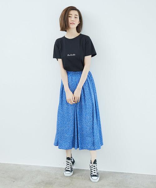 [ROPE' PICNIC] ロゴプリントTシャツ2