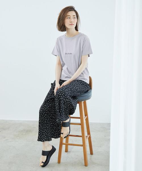 [ROPE' PICNIC] ロゴプリントTシャツ3
