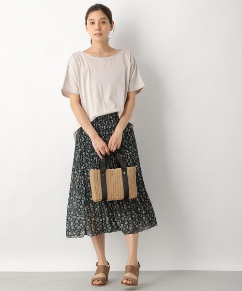 [LEPSIM] ハナガラプリーツスカート 837149