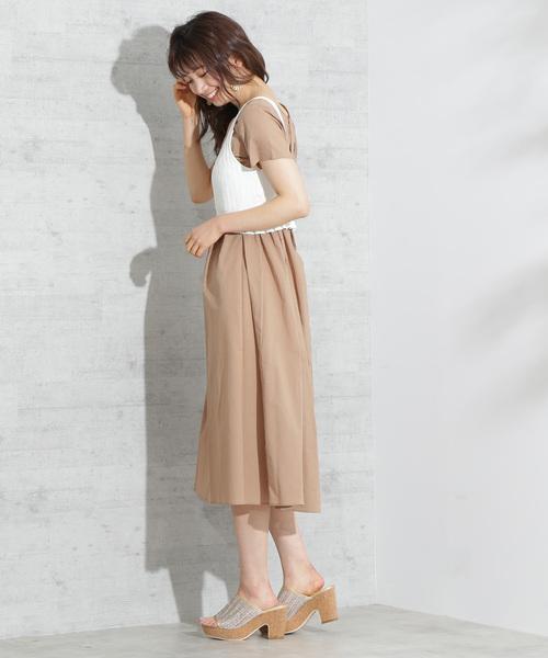 [PROPORTION BODY DRESSING] <E>ビスチェセットワンピース