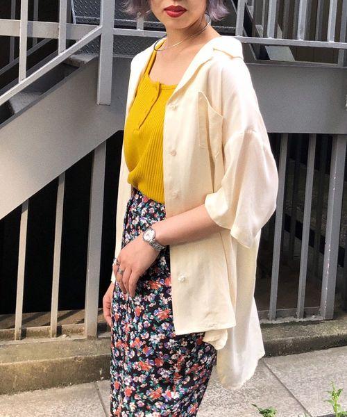 [PAGEBOY] 【WEB限定】レーヨンカイキンシャツ