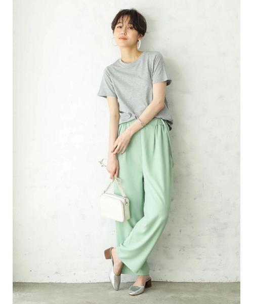 [koe] ・クルーネックTシャツ ●