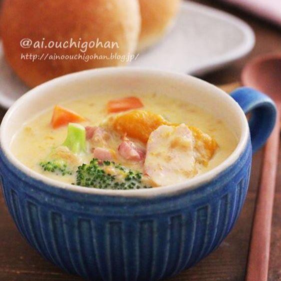 かぼちゃ 簡単料理 スープ6