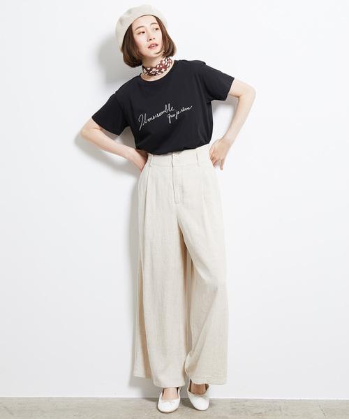 [ROPE' PICNIC] 刺繍ロゴTシャツ2