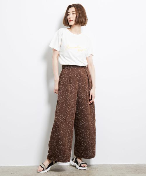 [ROPE' PICNIC] 刺繍ロゴTシャツ3