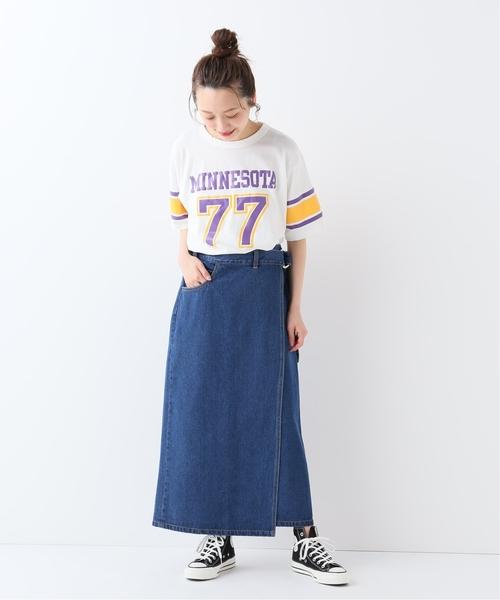 [IENA] Champion FOOTBALL Tシャツ