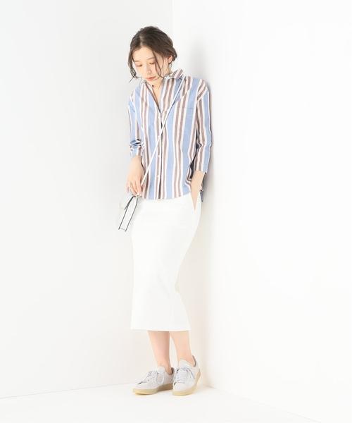 [Spick & Span] アサコンオックス タイトスカート◆