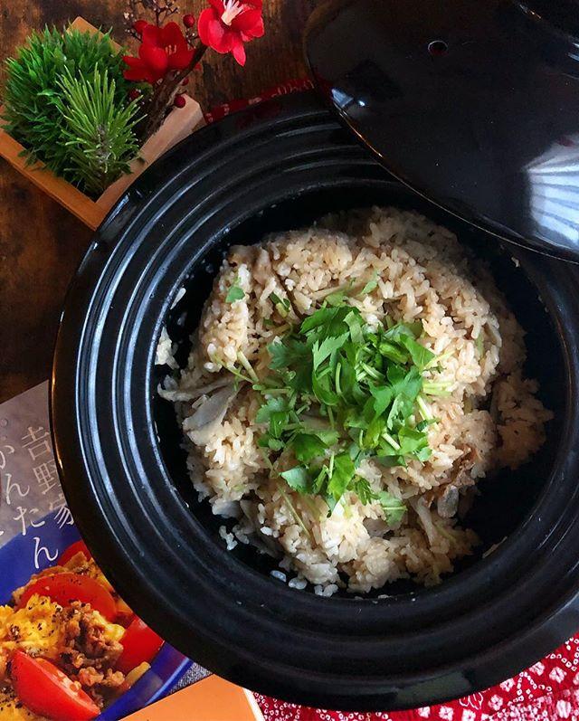 牛肉とごぼうの炊き込みご飯2