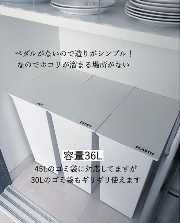 洗練デザインのダストボックス
