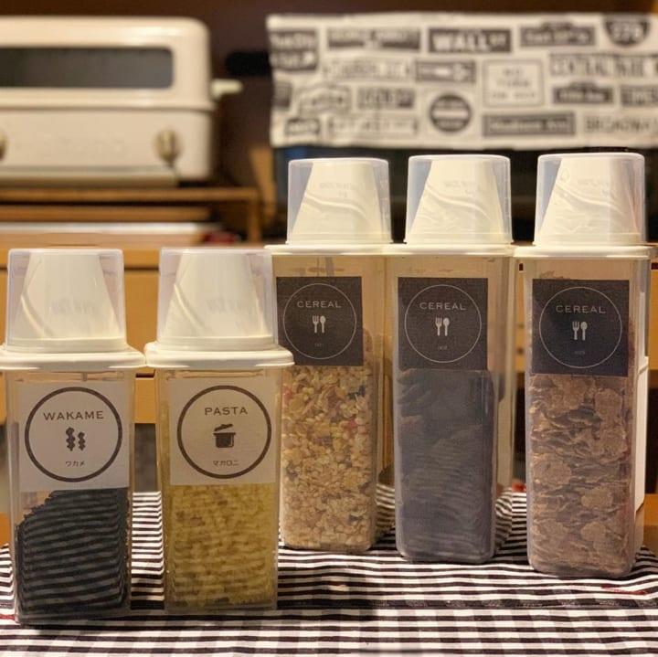 ダイソーの穀物保存容器2