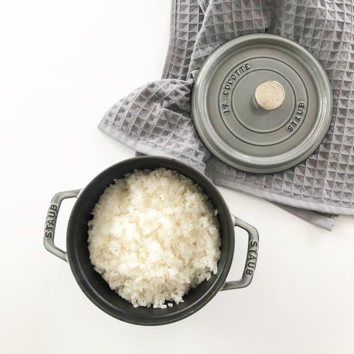 炊飯10分+蒸らし時間10分で出来上がり