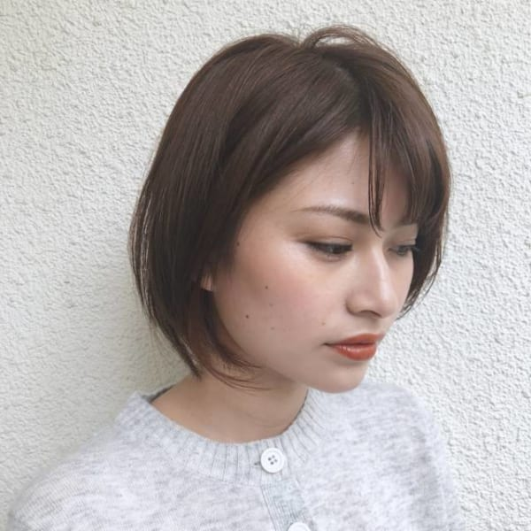 卵型に似合う髪型4