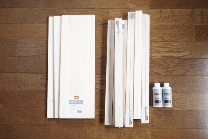 セリア 木材 DIY