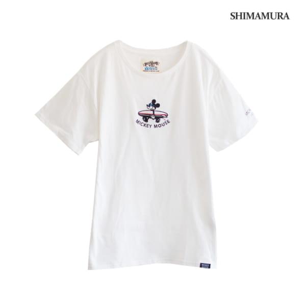 サーフミッキーが可愛い♡980円ディズニーTシャツ